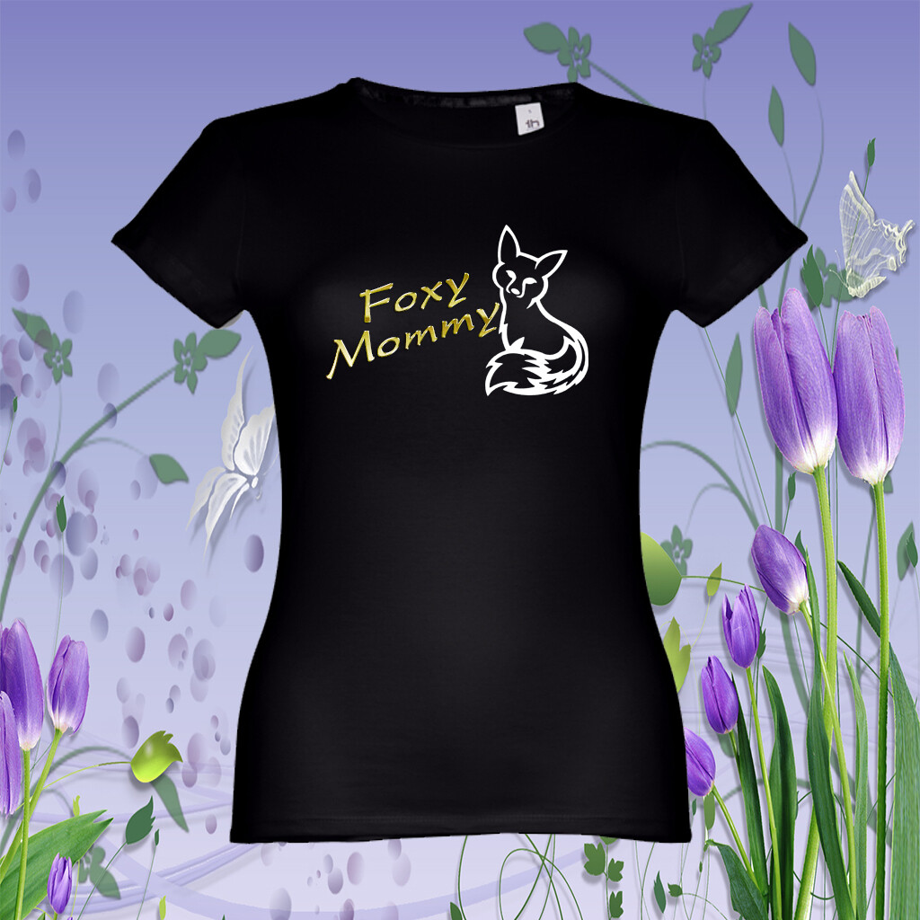 "T-Shirt ""Foxy Mommy"""