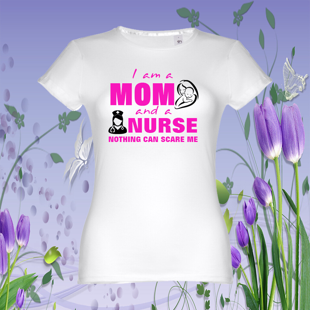 "T-Shirt ""Mom Nurse"""