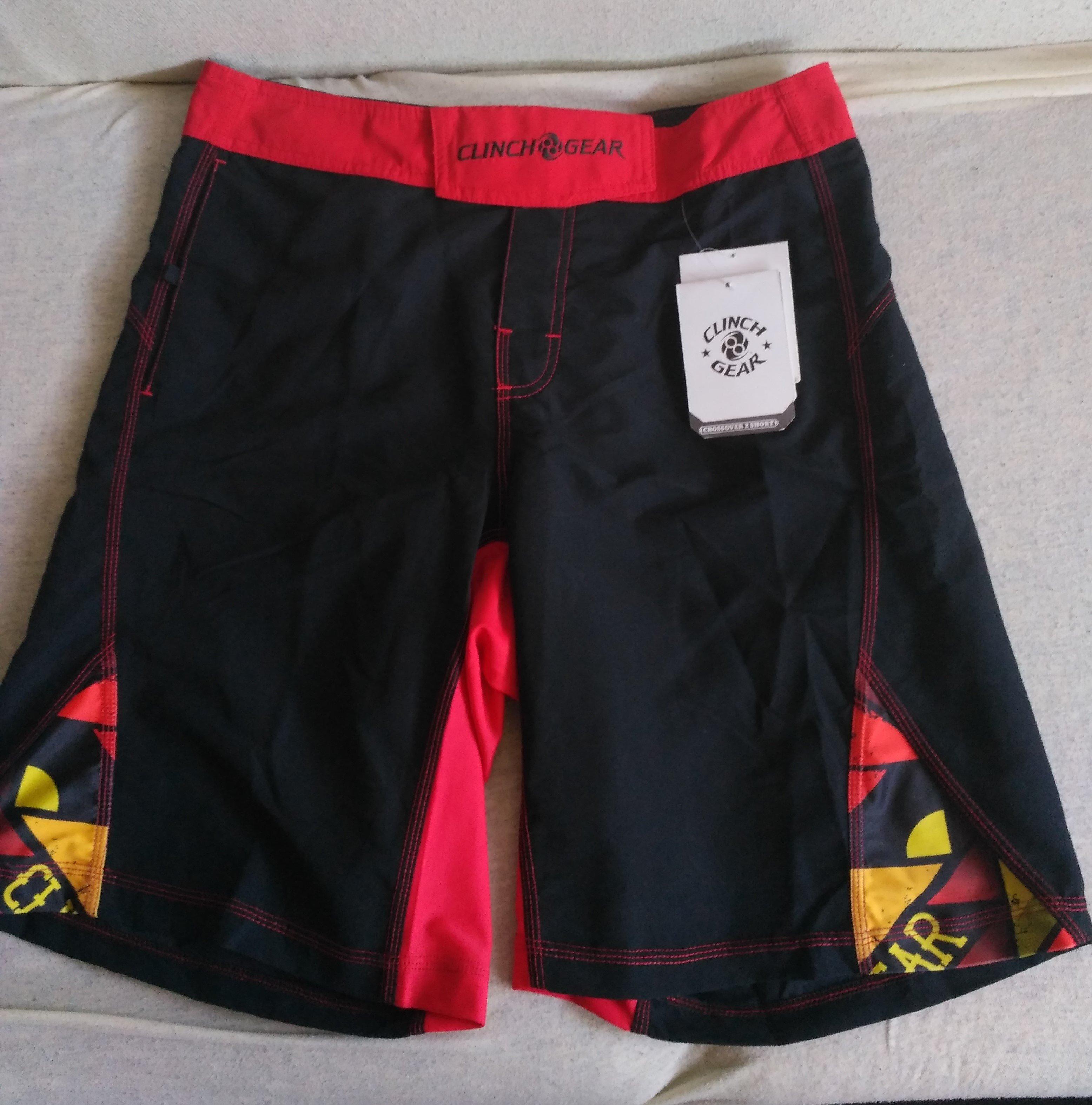 Bermude Clinch Gear MMA Shorts