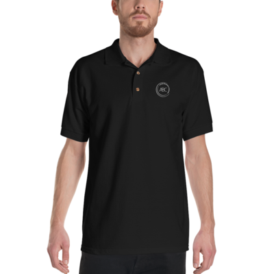 ABC Embroidered Polo Shirt