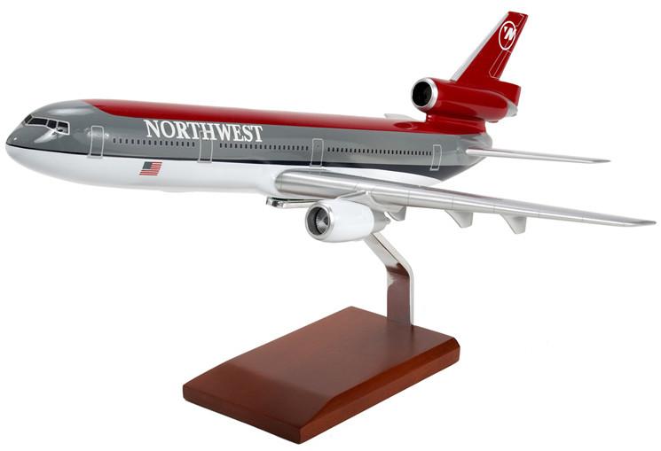 DC-10-30 Northwest Model Airplane