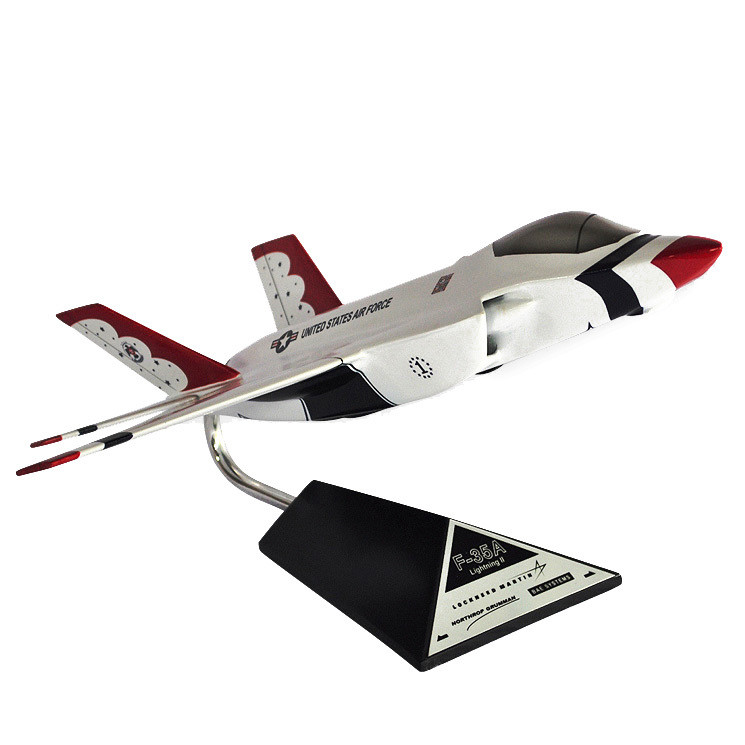 F-35A JSF Thunderbird Model Airplane