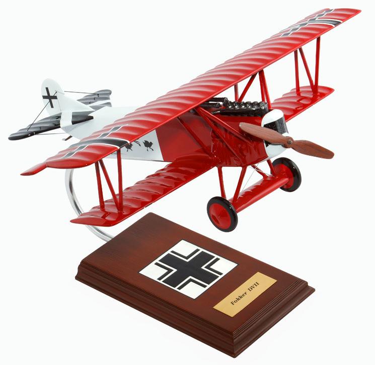 Fokker D.VII (D7) Model Airplane