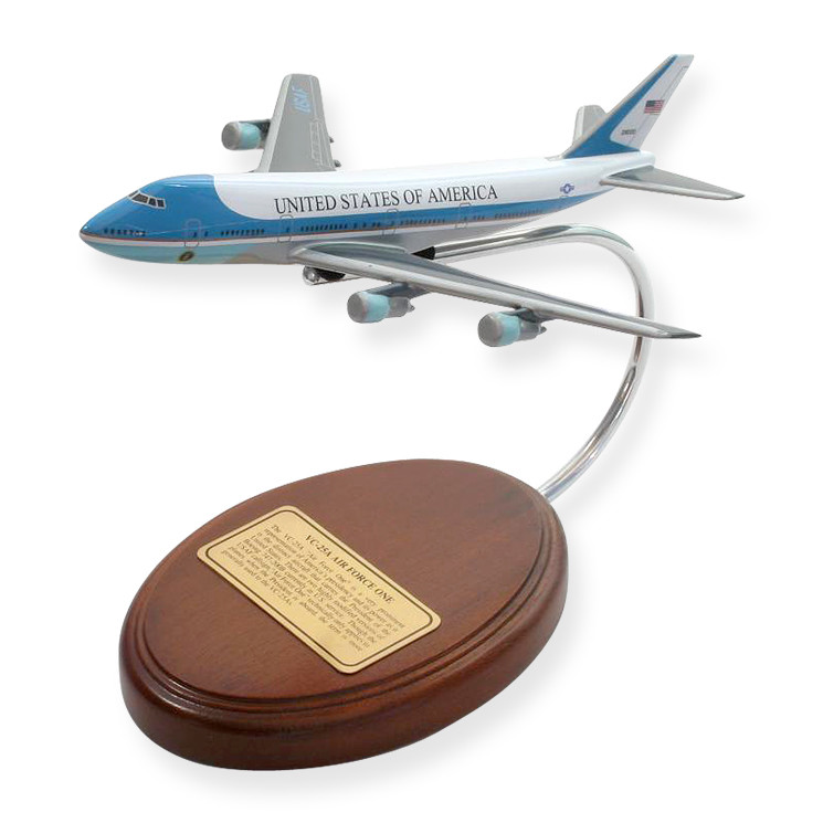 VC-25A Air Force One 1/326 Desktop Model Aircraft (Small)