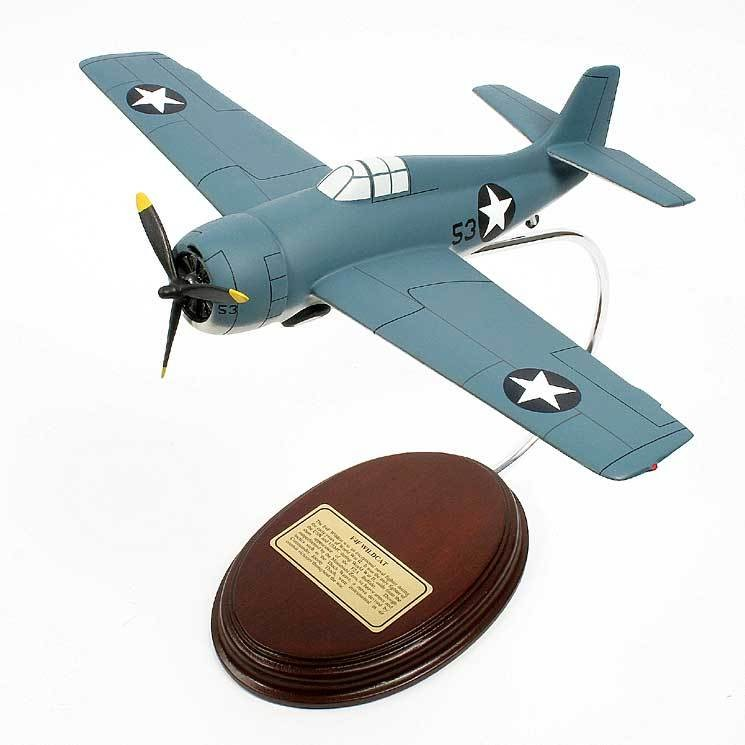 Grumman F4F Wildcat 1/38 Desktop Model Airplane