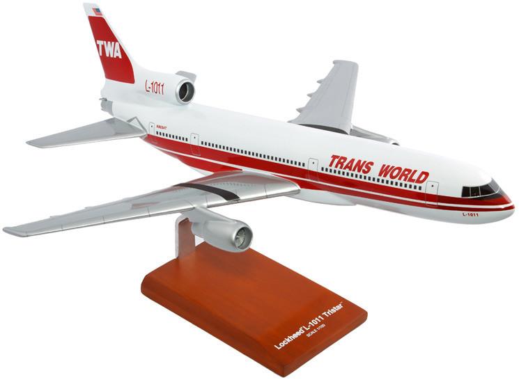 L-1011 TWA Model Airplane
