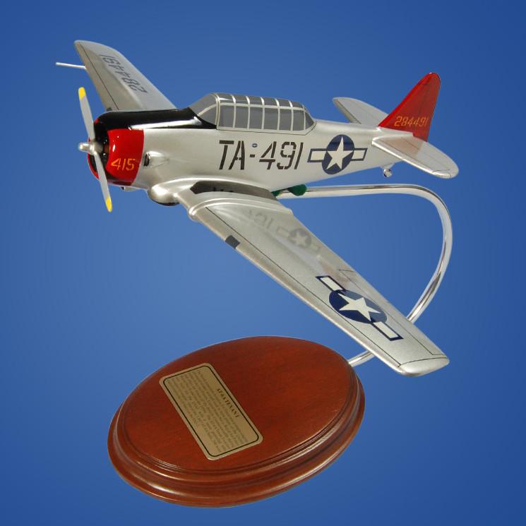 North American AT-6A Texan I 1/42 Desktop Model Aircraft