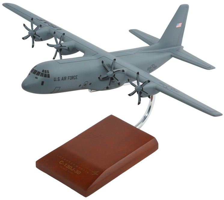 C-130J-30 Hercules 1/100 Model Airplane