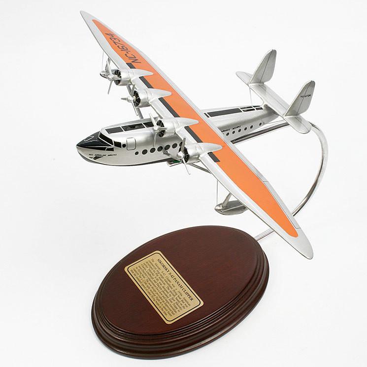 Sikorsky S-42 PanAm Clipper 1/114 Desktop Model Aircraft