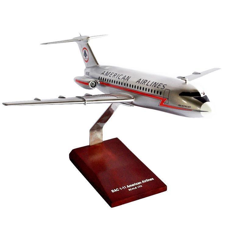 BAC-1-11 American Model Airplane
