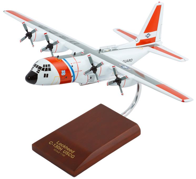HC-130H Hercules USCG 1/100 Model Aircraft
