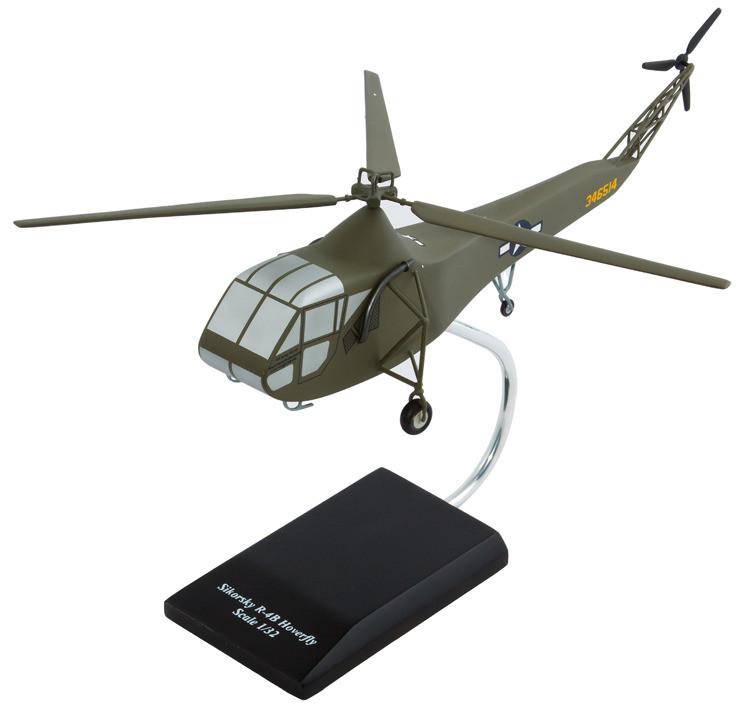 Sikorsky R-4 Hoverfly Model Airplane