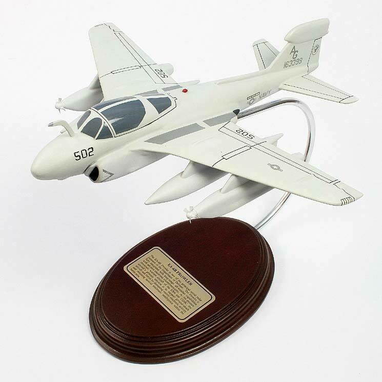 Northrop Grumman AE-6B Prowler 1/58 Desktop Model Aircraft