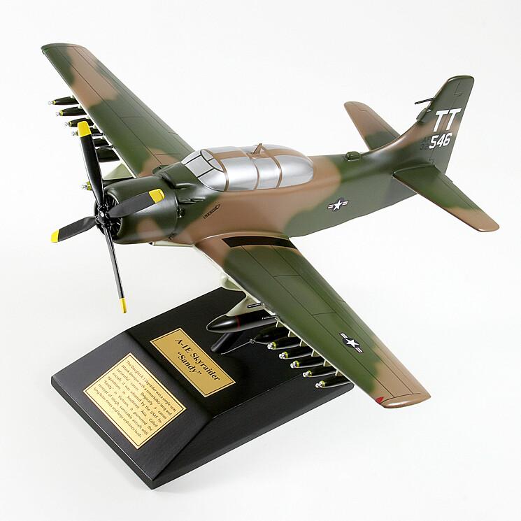 A-1E Skyraider Display Model Aircraft