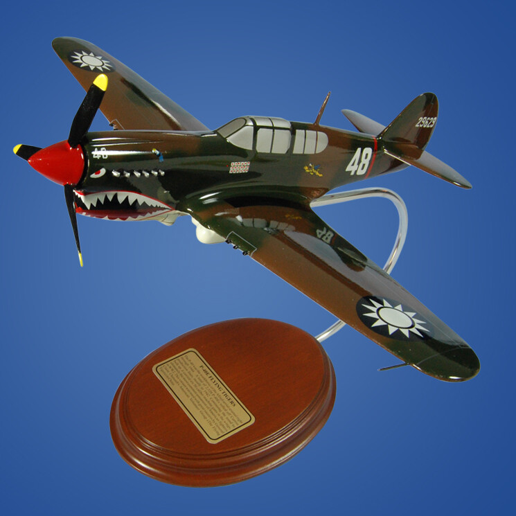 P-40E Flying Tigers Desktop Model Aircraft