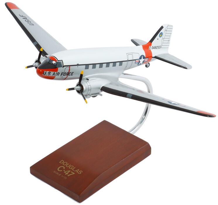 C-47A Skytrain 1/72 Scale Model Aircraft