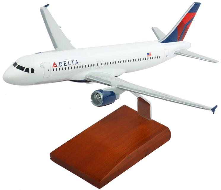 A320 Delta Model Airplane