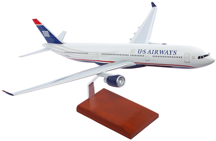 A330-300 US Airways Model Airplane