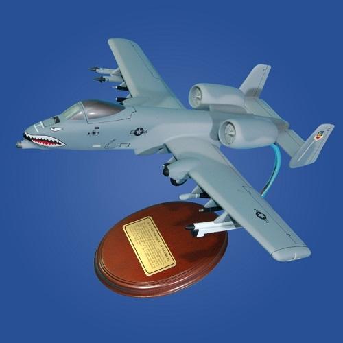 A-10 Warthog 'Tiger Sharks' Desktop Model Aircraft