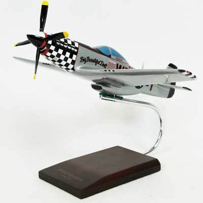 "P-51D Mustang ""Big Beautiful Doll"" Model Airplane"