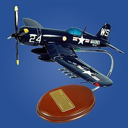 F4U-5 Corsair (Death Rattlers) 1/41 Desktop Model Aircraft