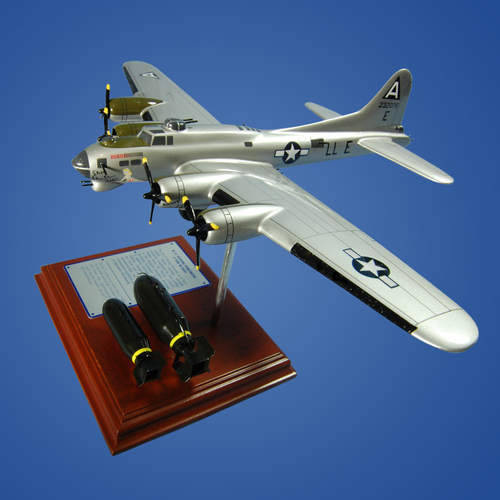 B-17 Flying Fortress Wood Model