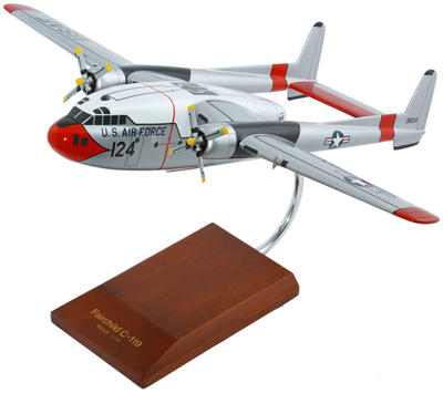 C-119G Flying Boxcar 1/72 Scale Model Aircraft