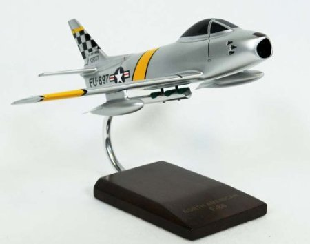 F-86F Sabre Model Airplane