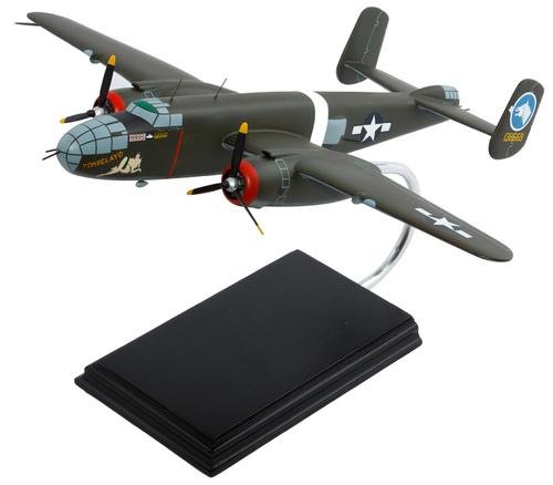 "B-25 Mitchell ""Tondelayo"" 1/44 Scale Model Aircraft"