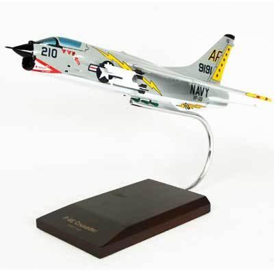 F-8E Crusader Model Airplane