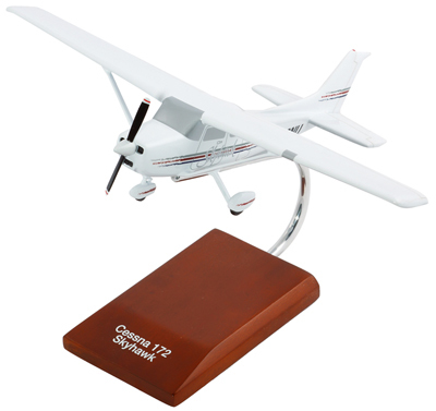 Cessna Model 172 Skyhawk 1/32 Model Airplane (Modern)