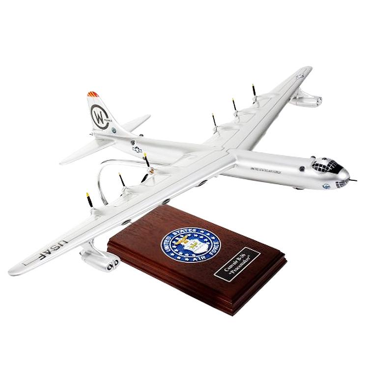 B-36J Peacemaker Wood Model Aircraft