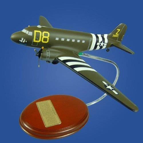 C-47A Skytrain  'The Argonia' Wood Model Airplane