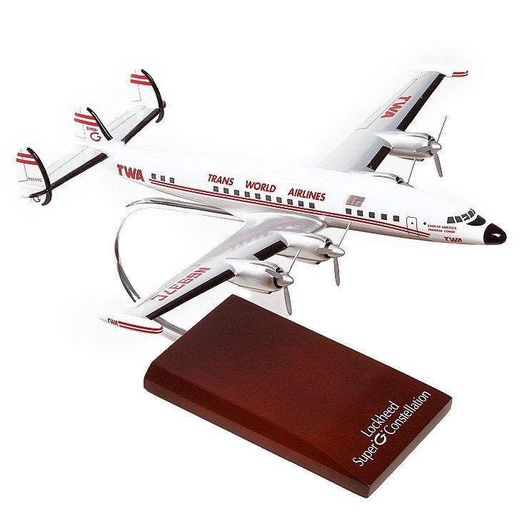 Constellation TWA Super G Model Airplane