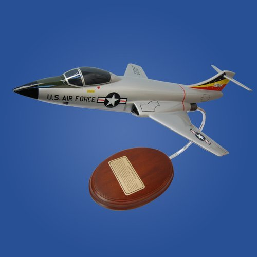 F-101 Voodoo Wood Model Airplane