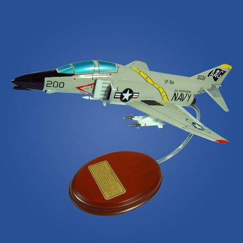 McDonnell Douglas F4 Phantom II (Jolly Rogers) 1/62 Desktop Model Aircraft