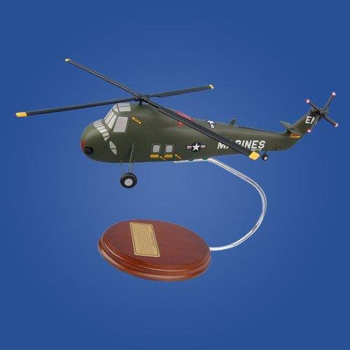 Sikorsky UH-34D Sea Horse (USMC) 1/56 Desktop Model Helicopter