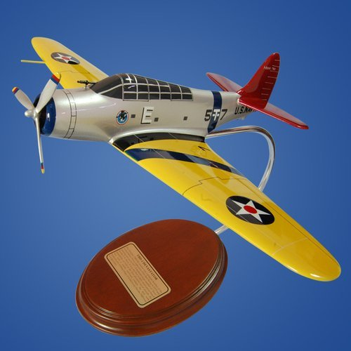 TBD-1 Devastator Desktop Model Aircraft