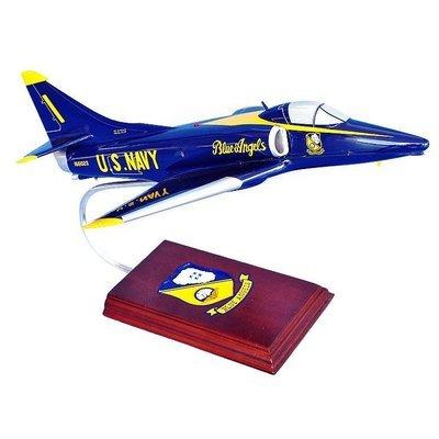 A-4 Skyhawk Blue Angels Model Airplane