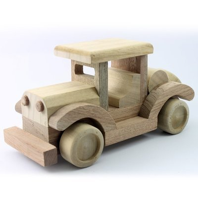 Wooden Toy Model T 9.25 Inches (Length)