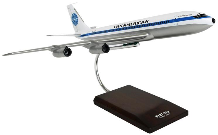 B707-320 Pan Am Model Airplane
