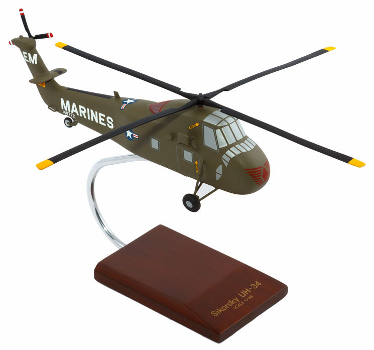 UH-34D Sea Horse Model Airplane