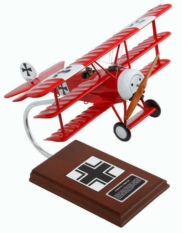 Fokker Dr.1 (Red Baron) 1/20 Scale Model Aircraft