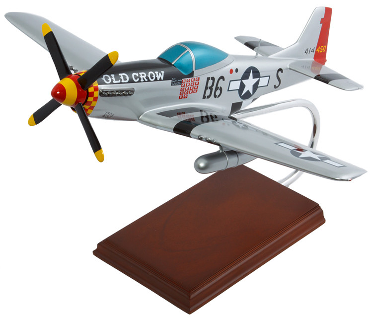P-51D Mustang Old Crow 1/24