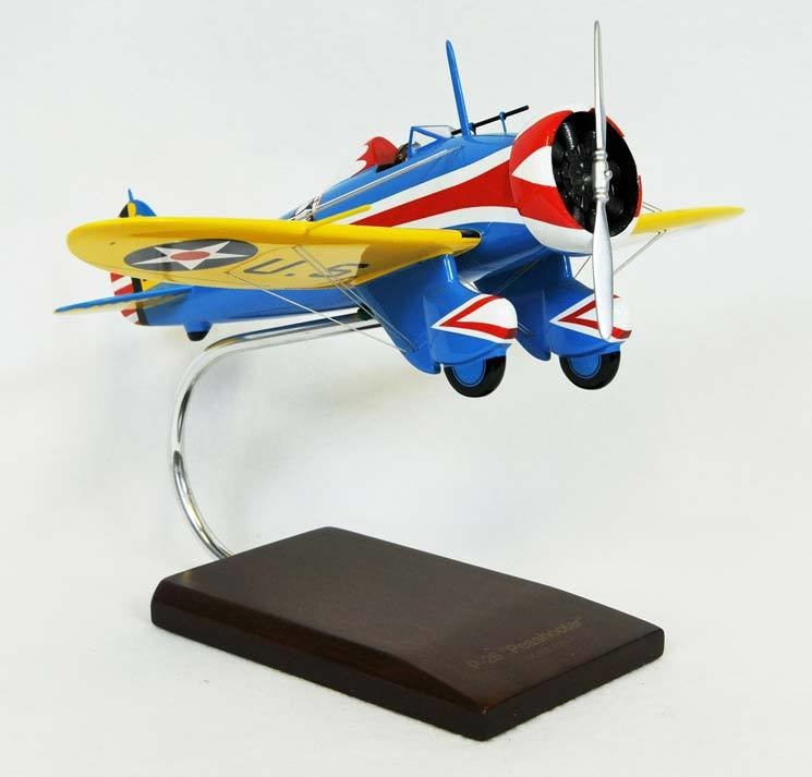 P-26A Peashooter 1/24 Model Airplane
