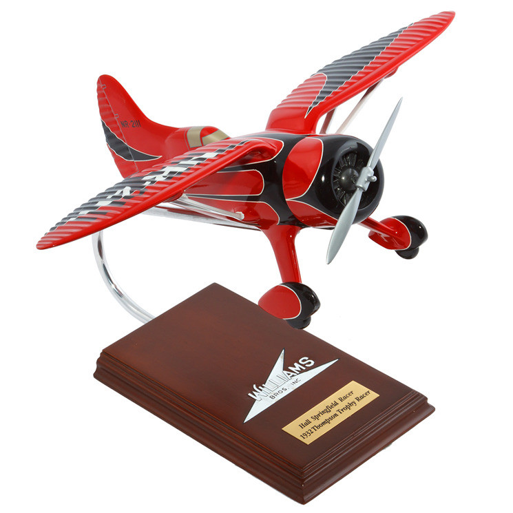 Hall's Bulldog Racer 1/20 Model Airplane
