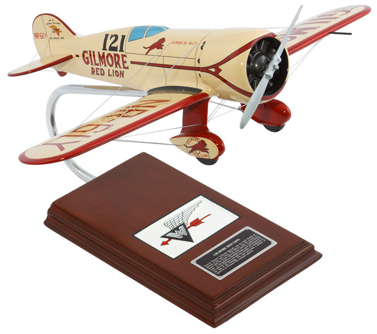 "Wedell Williams ""Red Lion"" 1/20 Model Airplane"