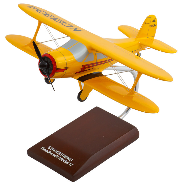 G-17 Staggerwing 1/32 Scale Model Aircraft