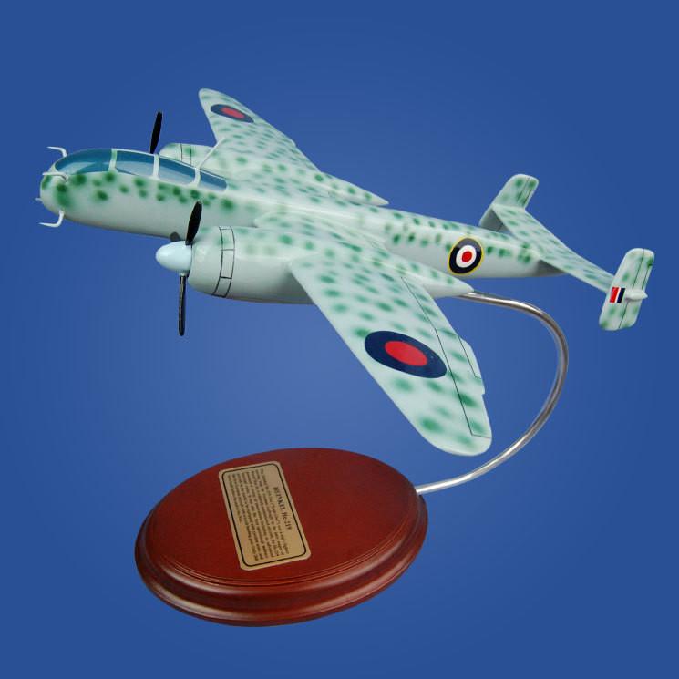 Heinkel He 219 1/60 Wood Model Airplane