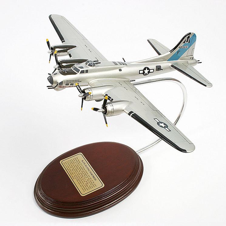 Boeing B-17G Flying Fortress 1/103 Desktop Model Aircraft